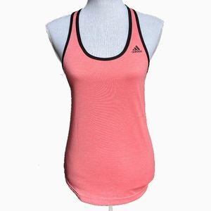 ADIDAS | CLIMATE CORAL PINK TANK TOP
